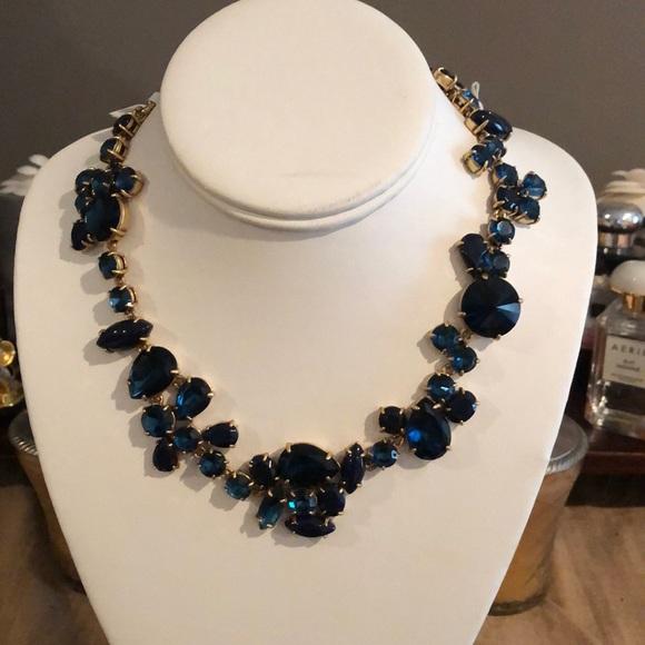 NWT jcrew rhinestone necklace